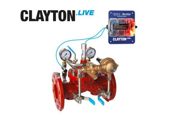 CLAYTON.LIVE mit Regelventil